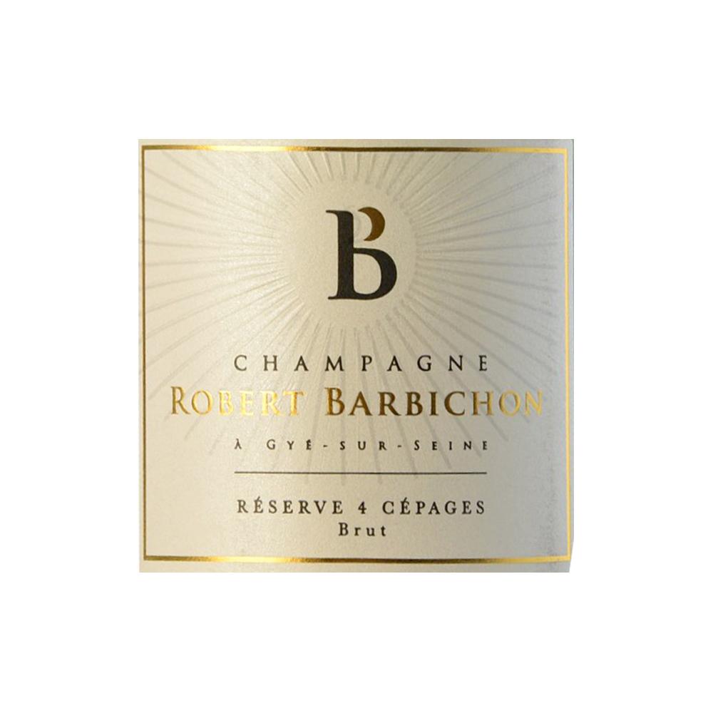 Champagne Robert Barbichon Cuvée Réserve 4 Cépages Brut, 37,5cl