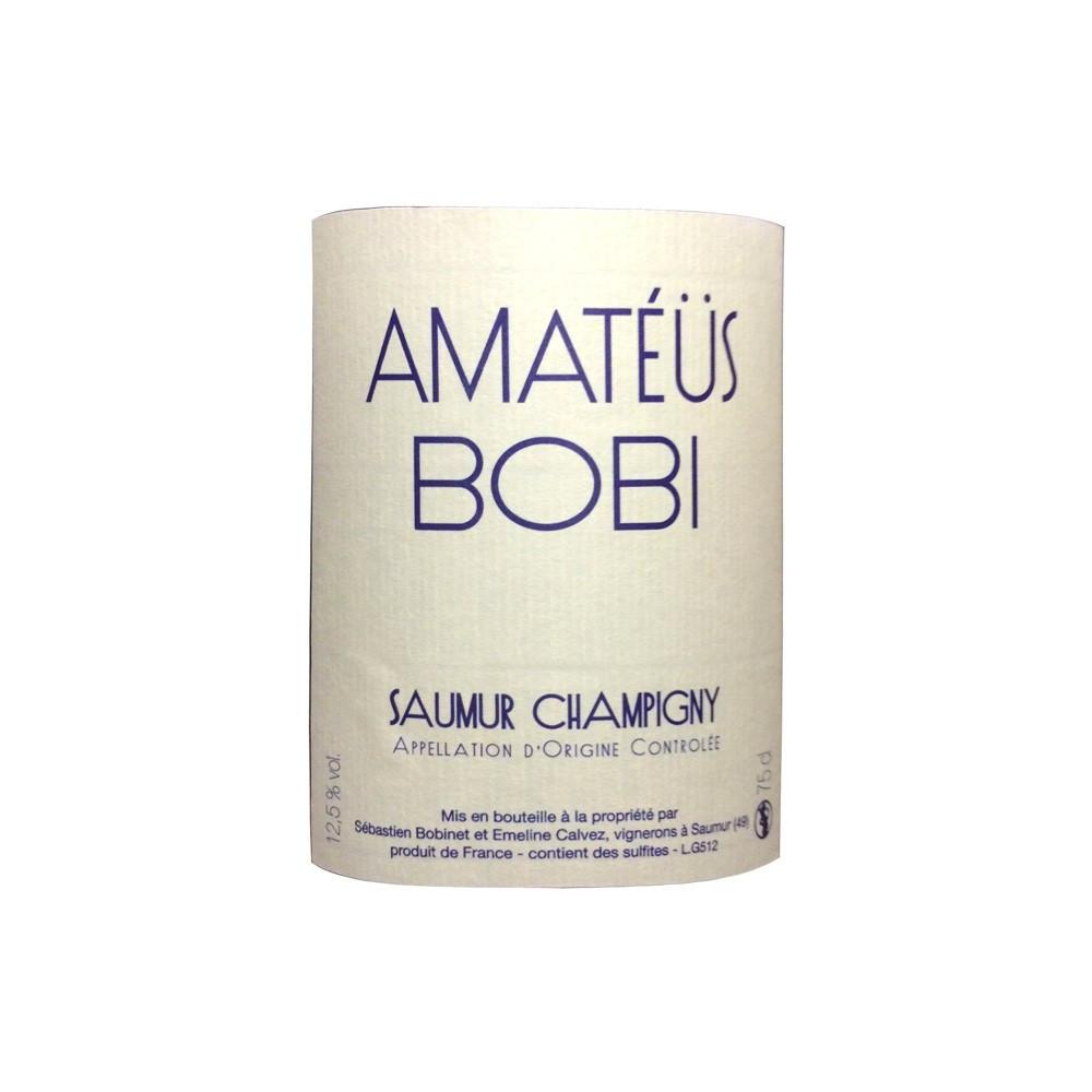 Amateus Bobi rosso AOC Saumur Champigny Domaine Sébastien Bobinet 2014, 75cl