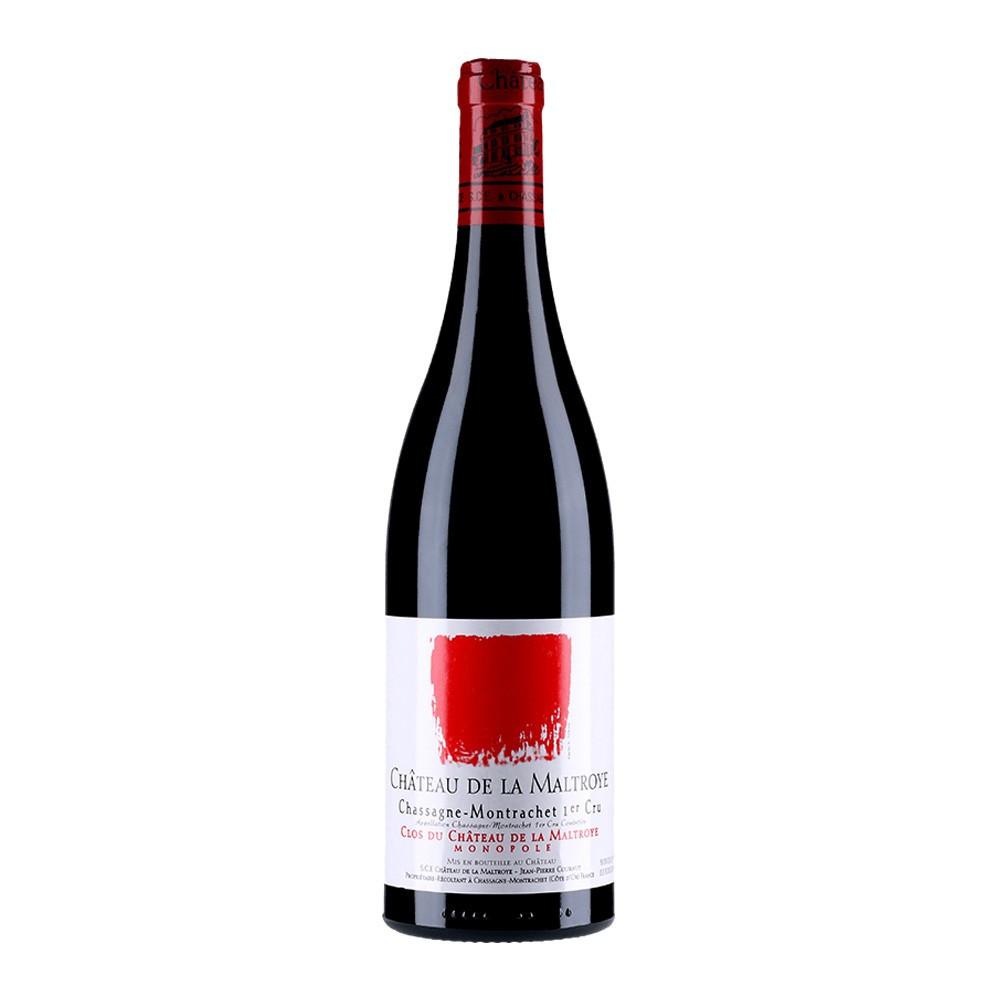Chassagne-Montrachet 1er cru rosso Clos du Château de la Maltroye 2015, 75cl