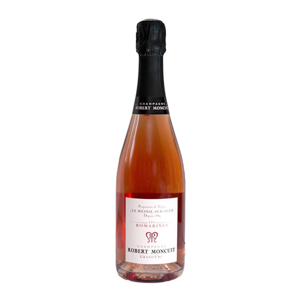 Champagne Robert Moncuit Les Romarines rosé Grand Cru, 75cl