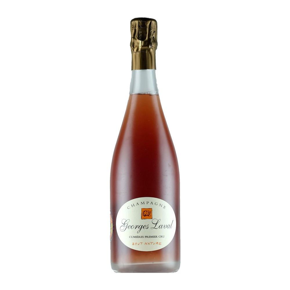 Champagne Georges Laval Rosé Cumières Brut Nature, 75cl