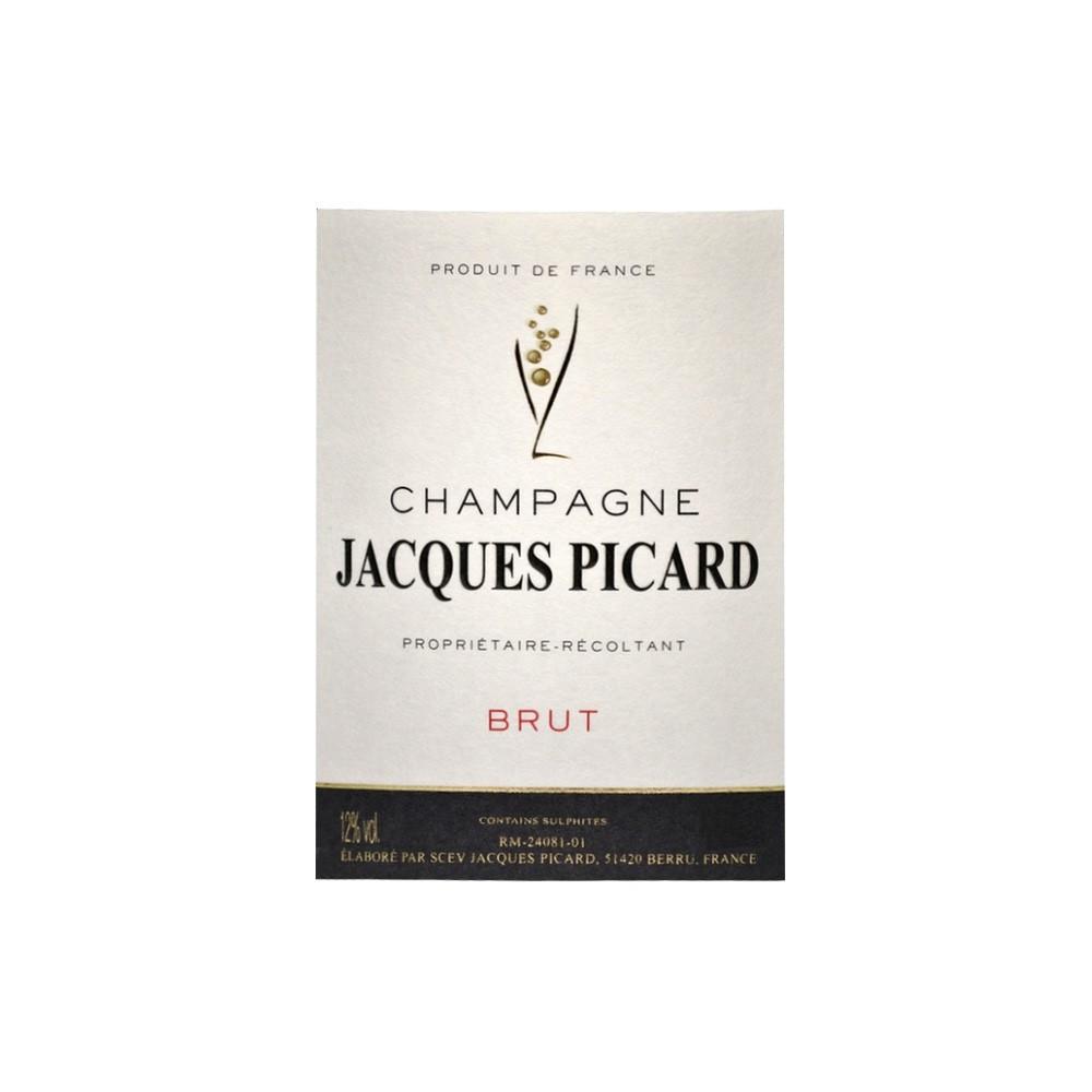 Champagne Jacques Picard Brut, 37,5cl
