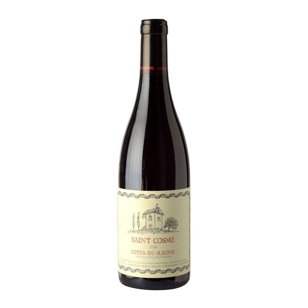 Saint Cosme Côtes-du-Rhône rosso 2016, 75cl