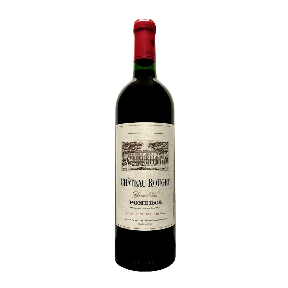 Pomerol Chateau Rouget 2012, 75cl Rosso