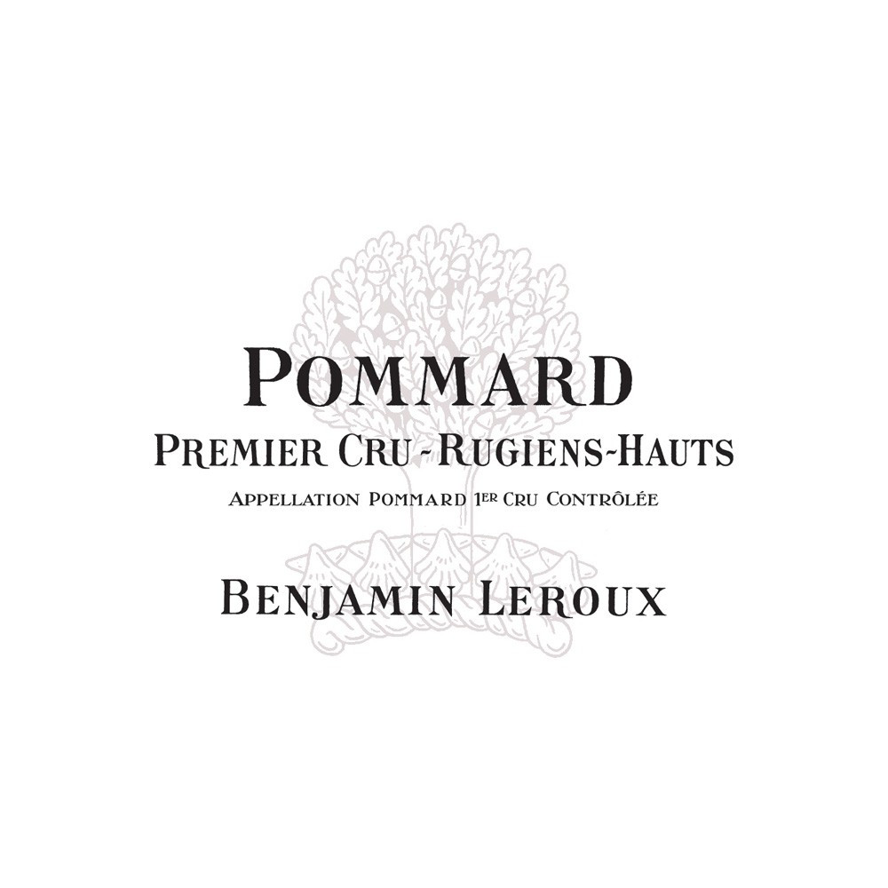 Pommard 1er Cru Les Rugiens- Hauts Domaine Benjamin Leroux 2015, 75cl Rosso