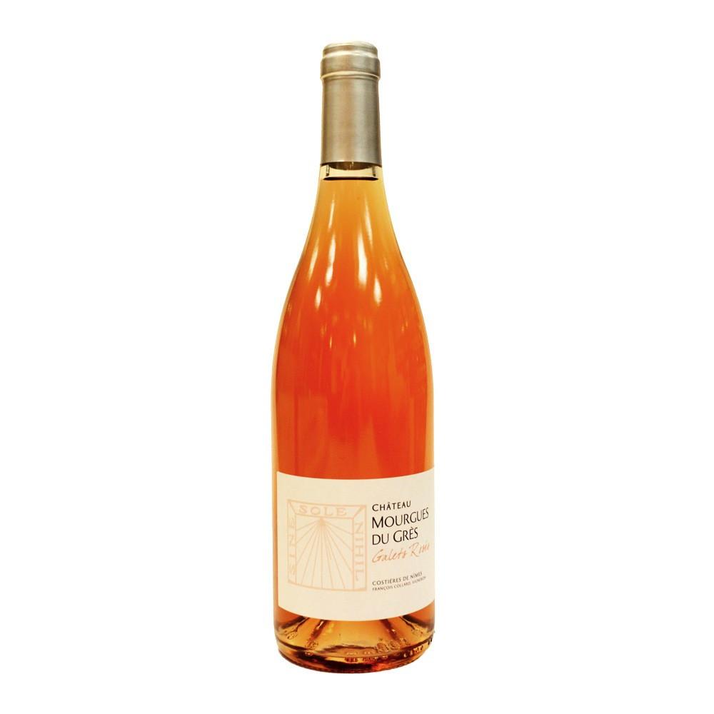 AOP CDN Chateau Mourgues du Grès Cuvée Galets Rosés 2016, 75cl Rosato