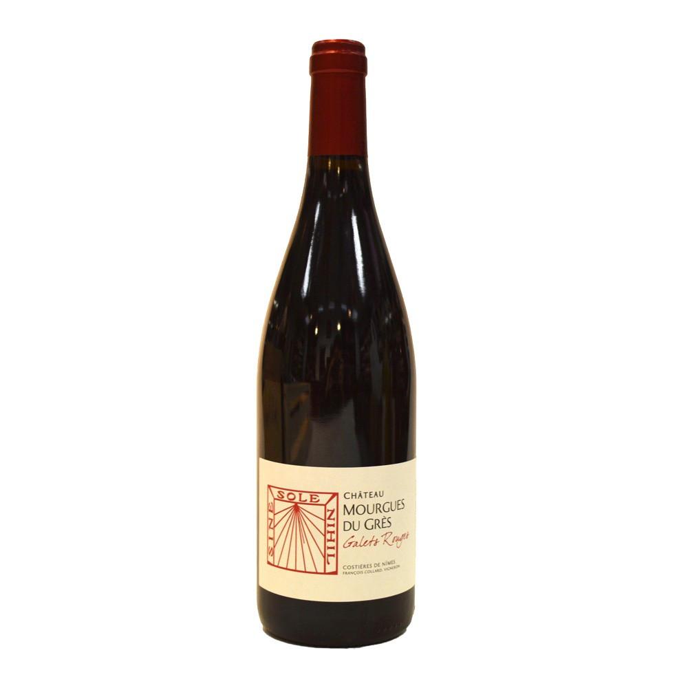 AOP CDN Chateau Mourgues du Grès Cuvée Galets Rouges 2016, 75cl Rosso
