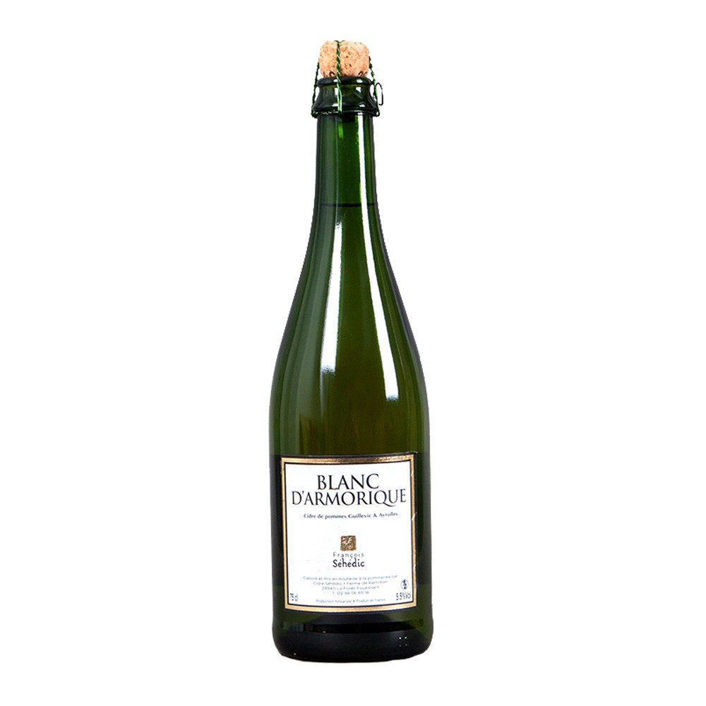 Cidre Séhedic Blanc D'Armorique Brut, 75cl
