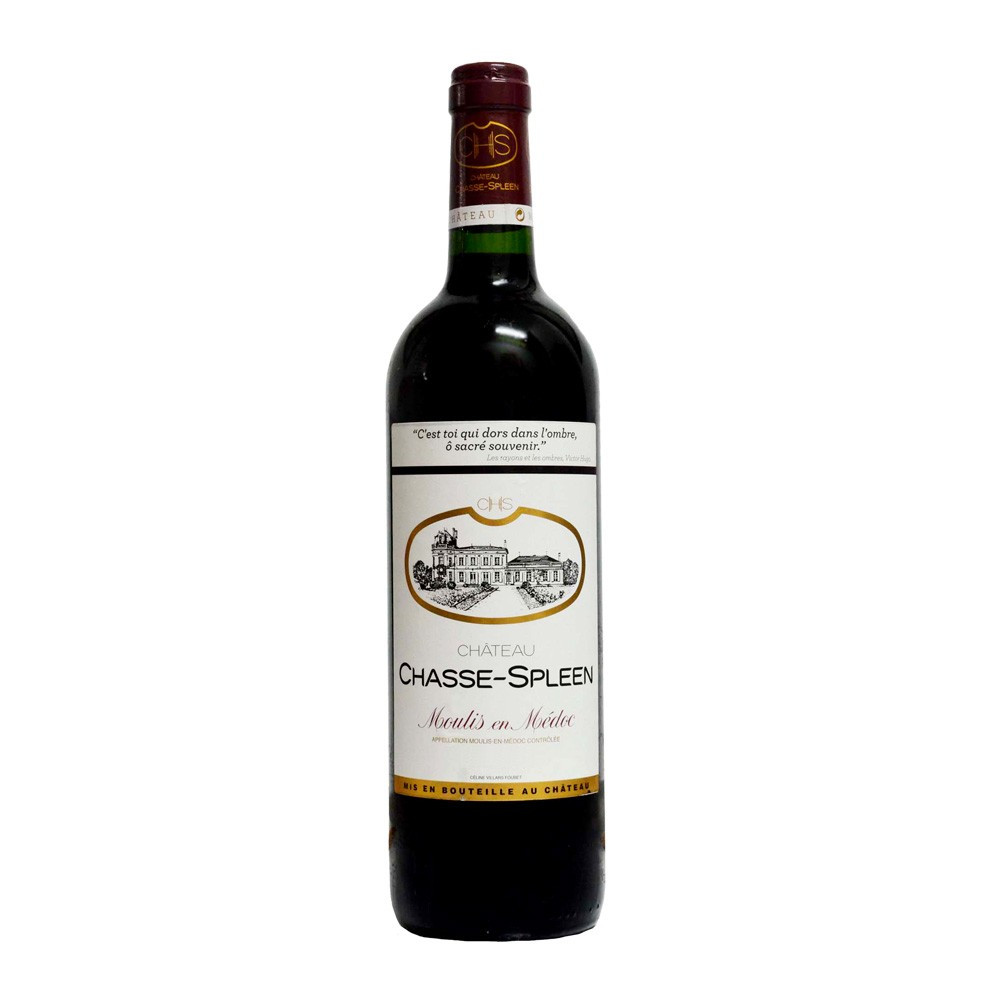 Moulis Chateau Chasse Spleen 2013, 75cl Rosso