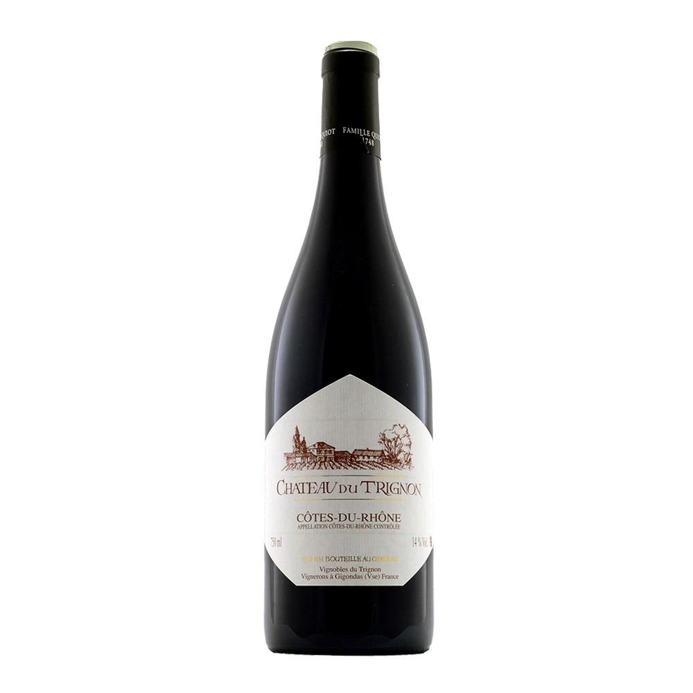 AOC Cotes du Rhone Château Trignon 2016, 75cl Rosso
