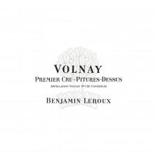Volnay 1er cru Pitures Dessus Rosso Domaine Benjamin Leroux 2014, 75cl