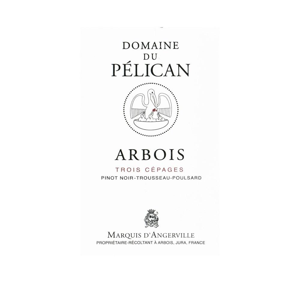 Trois cépages rosso AOC Arbois Domaine du Pélican 2015, 150cl