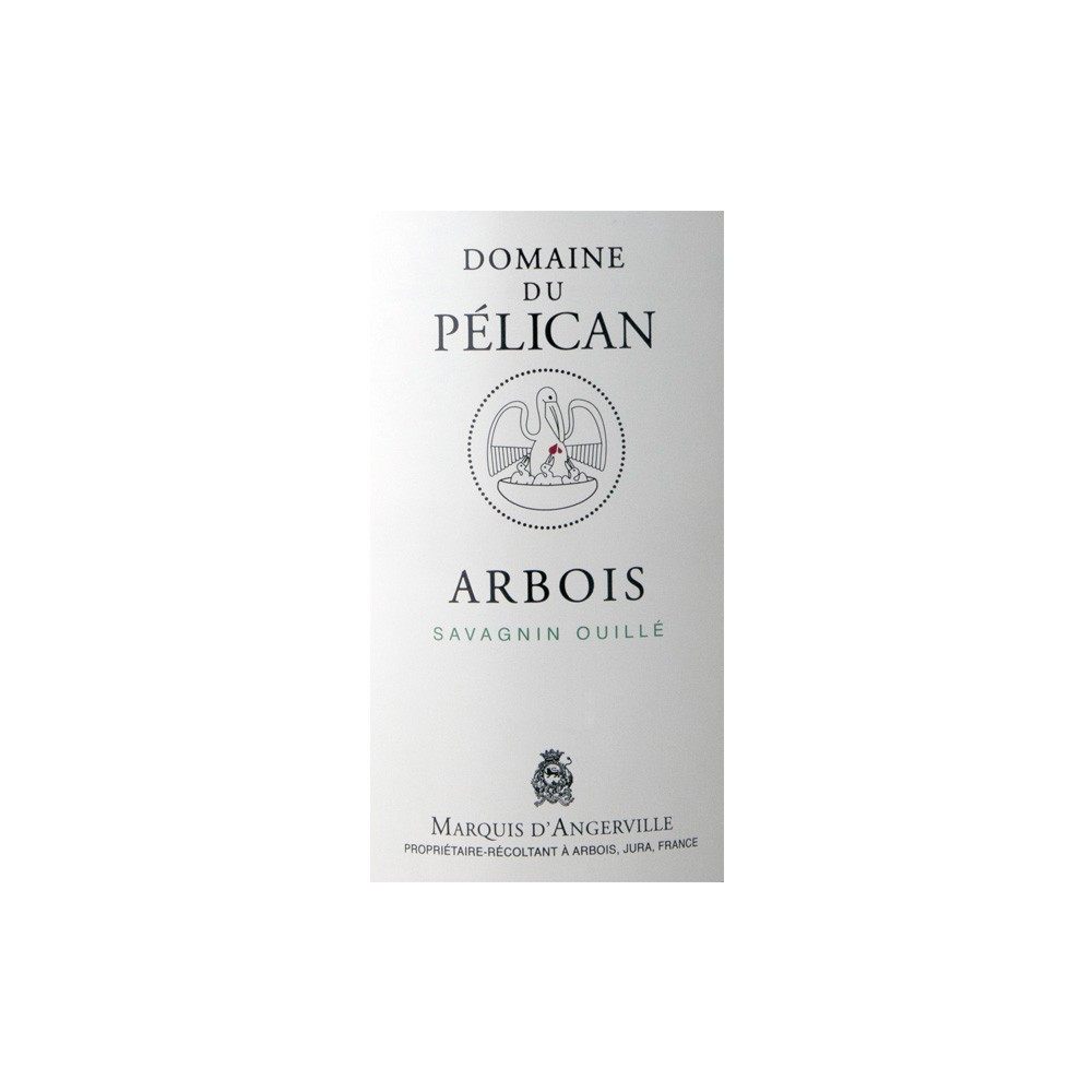 Savagnin ouillé AOC Arbois Domaine du Pélican 2016, 150cl
