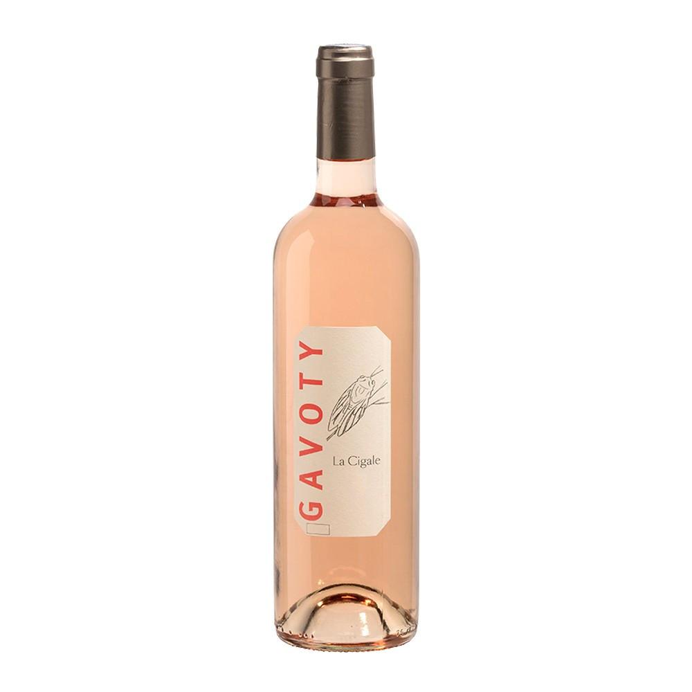 Var IGP rosato Vin de Pays  Domaine Gavoty Cuvée La Cigale 2016, 75cl